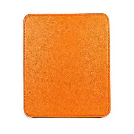 Mouse pad personalizável em couro ocre