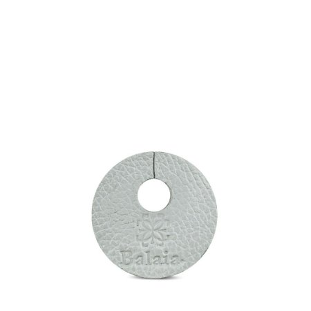 Marcador de taça personalizável em couro paloma