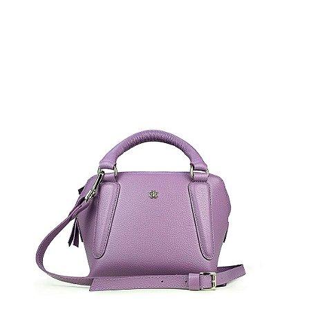 Bolsa Balaia Zoe P em couro lilas