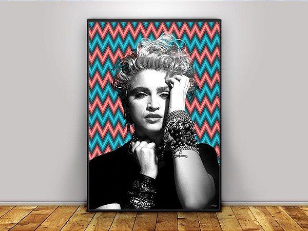 Poster Madonna 80's