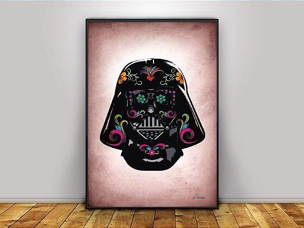 Poster Capacete Darth Vader