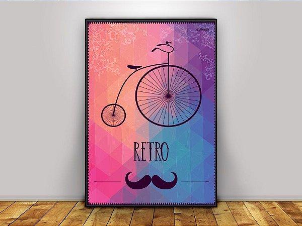 Poster Bike Retro