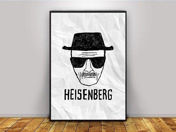 Poster Heisenberg - Breaking Bad