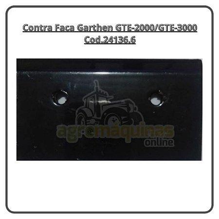 Contra Faca para Ensiladeira Garthen Gte-3000/2000