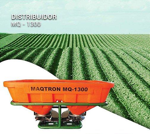 Distribuidor de Sementes ou Fertilizantes Maqtron MQ-1300 Comando Manual