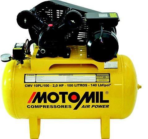 COMPRESSOR  PROFISSIONAL LEVE – CMV-10PL/100 - MOTOMIL