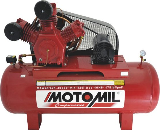 COMPRESSOR DE AR INDUSTRIAL – MAW-40/425 - INTERMITENTE MOTOMIL