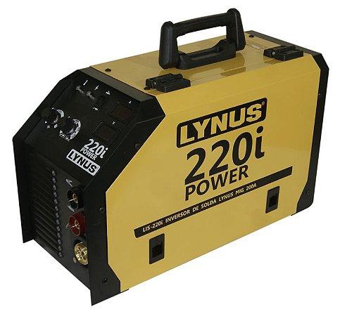 Maquina Inversora de Solda Mig LIS-220i-POWER - LYNUS