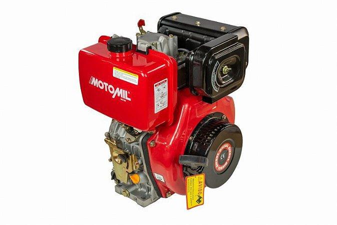 Motor Estacionario Diesel 10Hp MD-186 Partida Manual