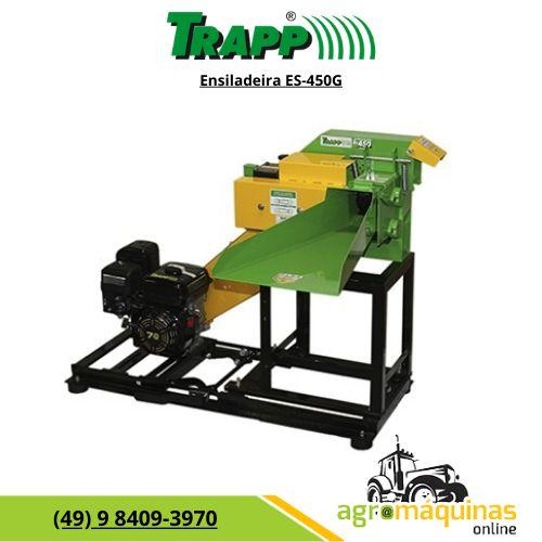 Ensiladeira Trapp ES-450G com Motor a Gasolina