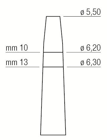 OSTEOTOMO EXPANSOR – 5,5 mm / 6,3 mm - 1300/6