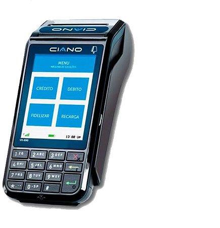 POS VX690 Multicard-Ciano - Locação Anual de: