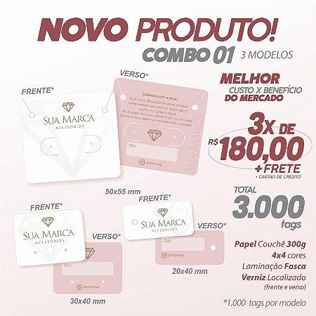 COMBO 01 ( 3 MODELOS )