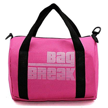 Mini Bolsa Para Treino Pink / Preto