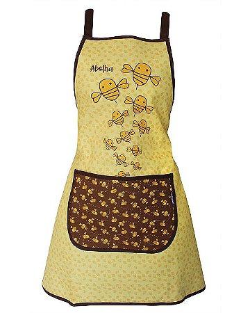 Avental de Cozinha Design Elegante - Resistente à Água - Modelo Abelha