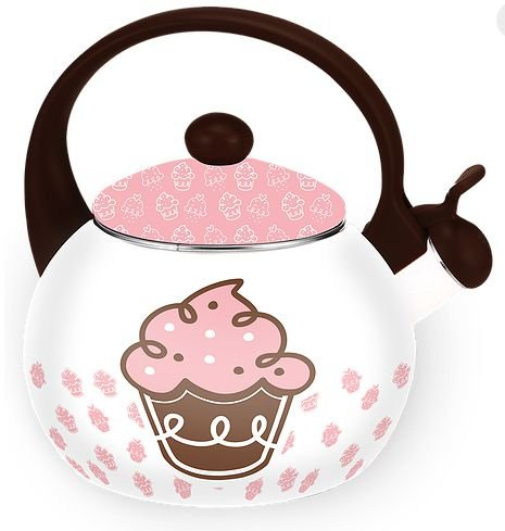 Chaleira Design Elegante - Modelo Cupcake