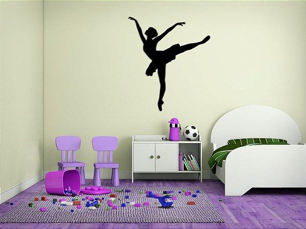 Adesivo de Parede 3D - Alto Relevo - Bailarina