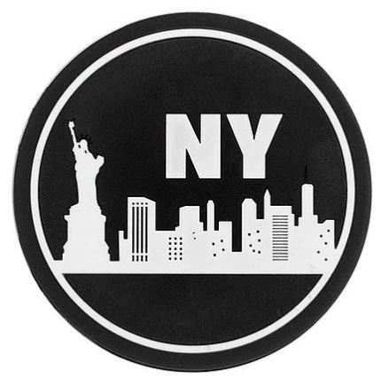 Porta Copos Modelo New York