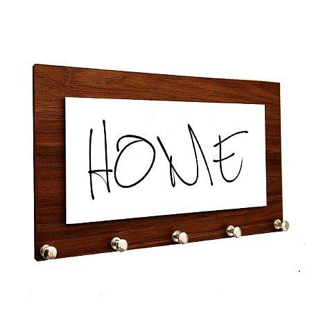 Porta Chaves e Cartas Personalizado Modelo Home