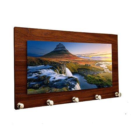 Porta Chaves e Cartas Personalizado Modelo Montanha