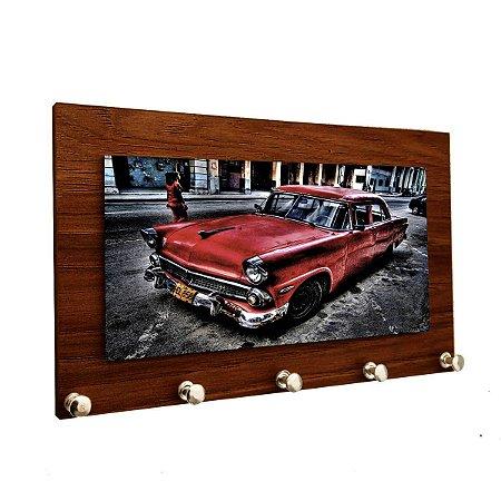 Porta Chaves e Cartas Personalizado Modelo Carro Antigo