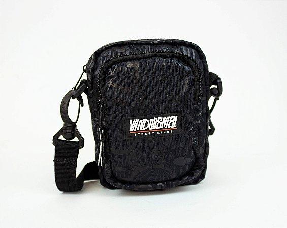 SHOULDER BAG BANDIT MASK BLACK 4.0