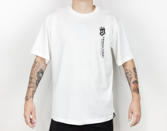 T-SHIRT FIRE81 OFF  WHITE