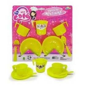 Kit Cafe Mayzinha - Varias Cores - Ref. 3883 - Mini Toys