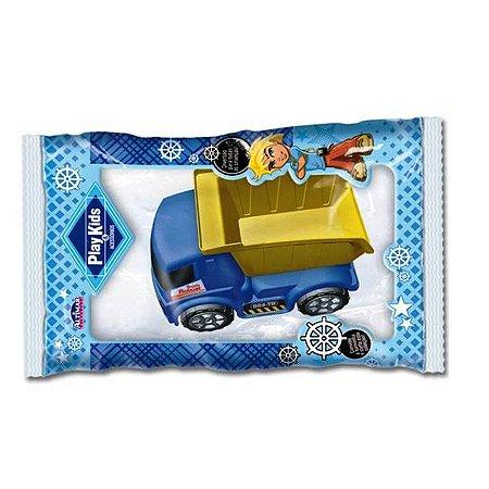 Caminhão Caçamba de Brinquedo - Play Kids - Linha Boy  - 15 cm - Ref.1200 - Altimar
