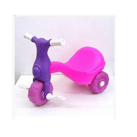 Triciclo para Boneca - MOTOCA - Ref.126-7 - Dominio Brinquedos