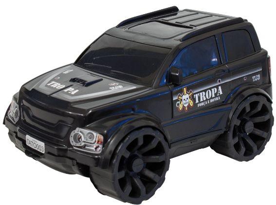 Jeep Caveirão TJ3 TROPA Carro Caveirão DNA