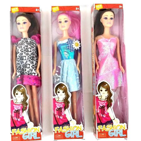 Boneca com 28 cm - Fashion Girl DL026112-10 - mv1