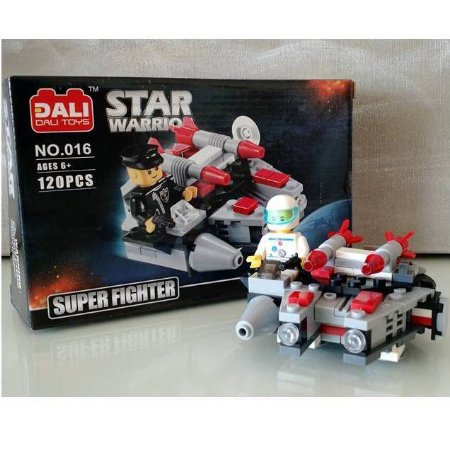 Blocos de Montar STAR WARRIORS 120 pecas - Dali Toys