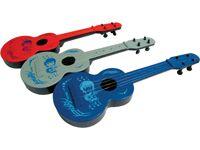 Violao PLástico Infantil de brinquedos - VIOLA - Varias Cores - 38 cm - Ref.10001