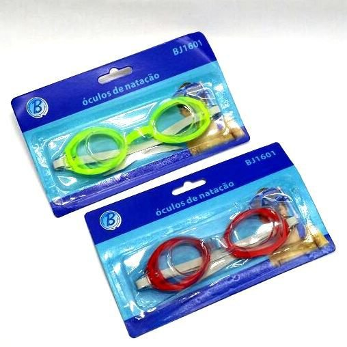 Óculos de Natação Infantil - Varias Cores - BJ1601 - BA10026