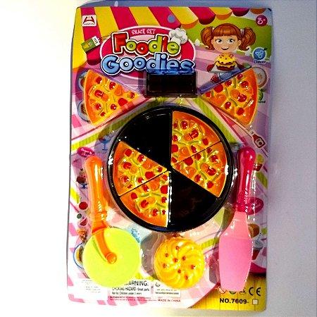 Kit de Cozinha infantil - Pizzaiolo - 11 acessorios - AB7427