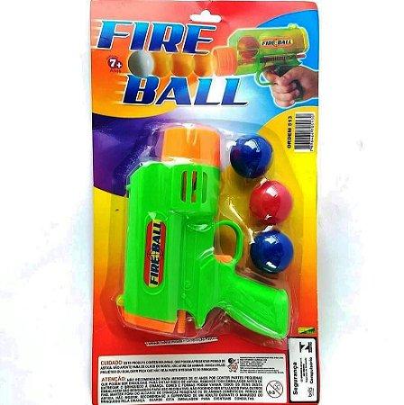 Pistola Lancador de Bolinhas FIRE BALL ref 513