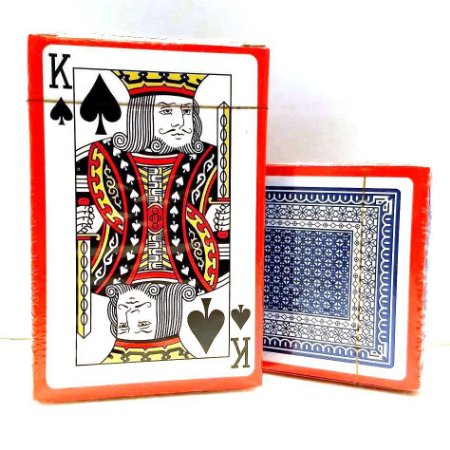 Jogo de Baralho Plastificado - Jogo de Cartas - KIT COM 10 BARALHOS - SS7895