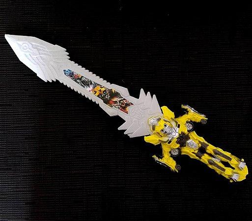 Espada Transformers com Luz e Som - 53 cm - Ref.6215