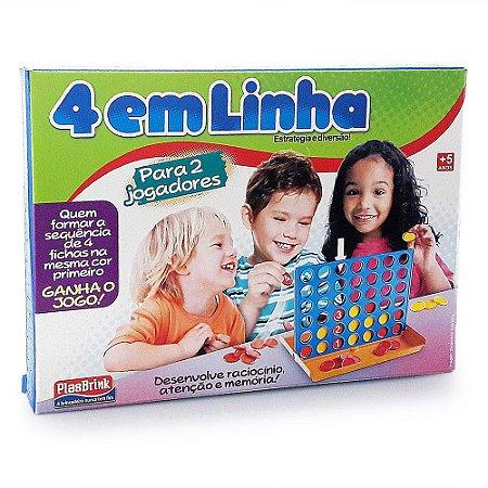 Jogo de tabuleiro 4 em linha - 0532 - Plasbrink