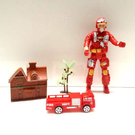 Kit de CAMINHAO DE Bombeiro FIRE FIGHTERS 898ABD