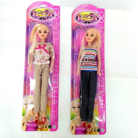 Boneca com 28 cm - Pretty Girl DL026113-2 -mv1