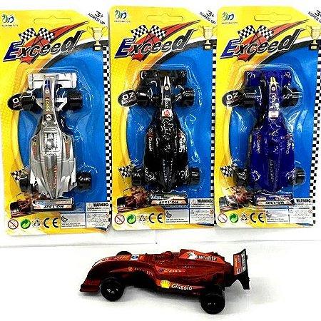 Carrinho a friccao - Carro de Formula 1 com 13 cm - ASH-153954 - Shock