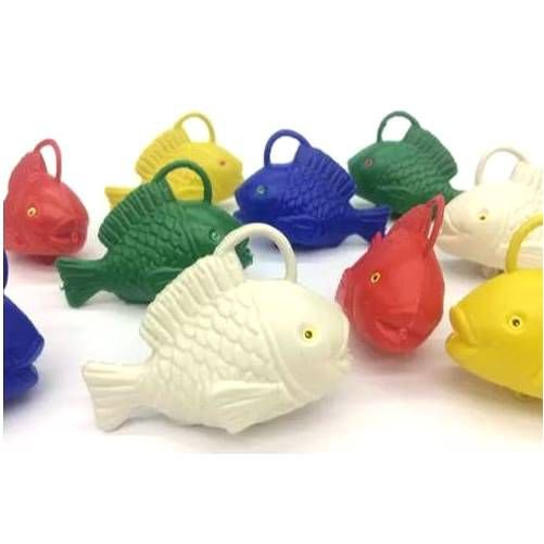Peixinho para pescaria - kit com 10 peixinhos - 197 - Jaragua Toys