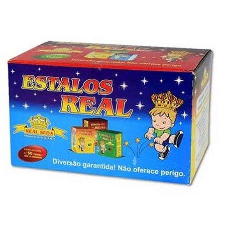 Estalos Real - caixa com 50 caixinhas de 10 estalinhos biribinha - 892-2762 - Real Seda