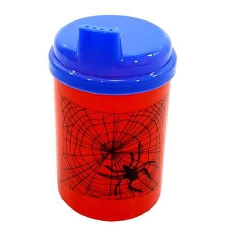 Copo plastico linha Baby Spider Man - 9 cm - 240 ml - copo chuquinha - Injetemp Ref.9671