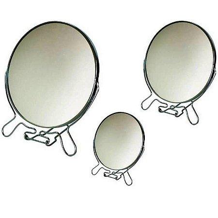 Espelho Dupla Face com aumento - diversos tamanhos