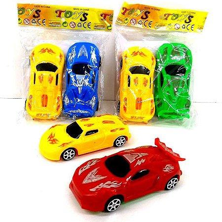 Carro a Friccao - Carrinhos de Corrida a Friccao- Kit com 2 - 10 cm - Toys190189