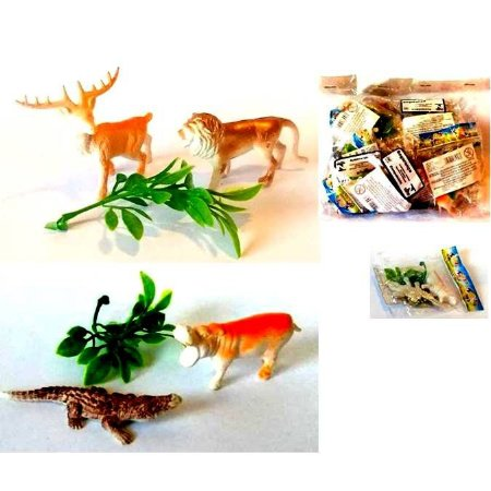 MINI Kit animal com 3 pecas - Pacote com 12 kits - H006-H009