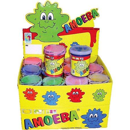 AMOEBA - Caixa com 24 Geleca AMOEBA em cores sortidas - Ref.. 1010001